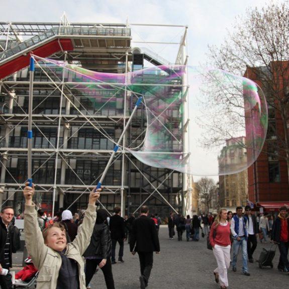 Ekskurzija v Pariz - Center G. Pompidou, marec 2011, foto A. Skobe