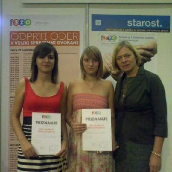 Nagrajenki natečaja za tretje življenjsko obdobje, sept. 2011, foto F. Bratkovič