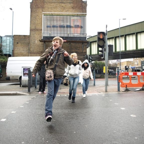 Razigrano odkrivanje Londona, feb. 2010, foto D. J. Smodej