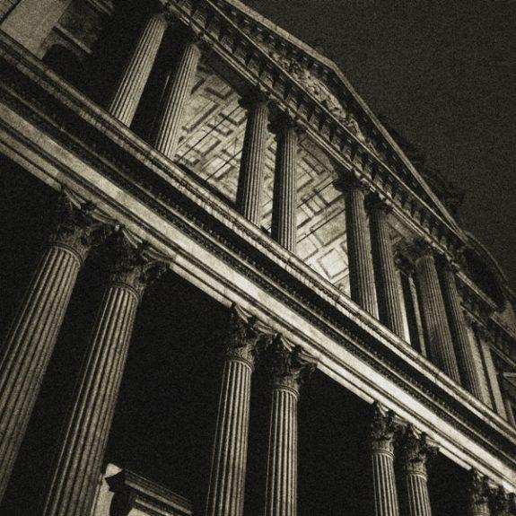 Črno-beli utrinki Londona - Katedrala sv. Pavla, foto D. J. Smodej