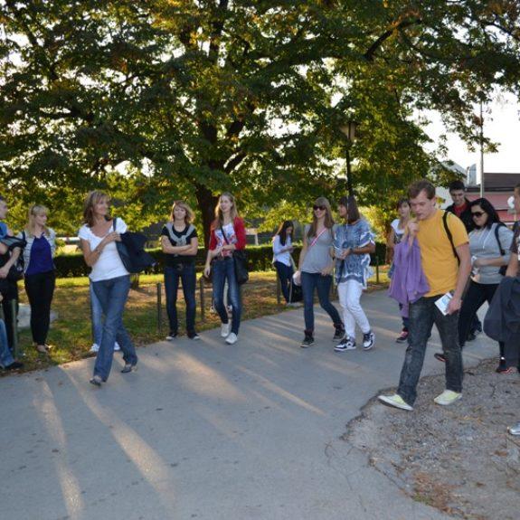 Izmenjava z Banaluko - Odkrivanje mesta, okt. 2011, foto M. Bukovec