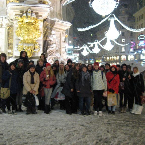 Skupinska slika na Dunaju, dec. 2010, foto J. Žagar