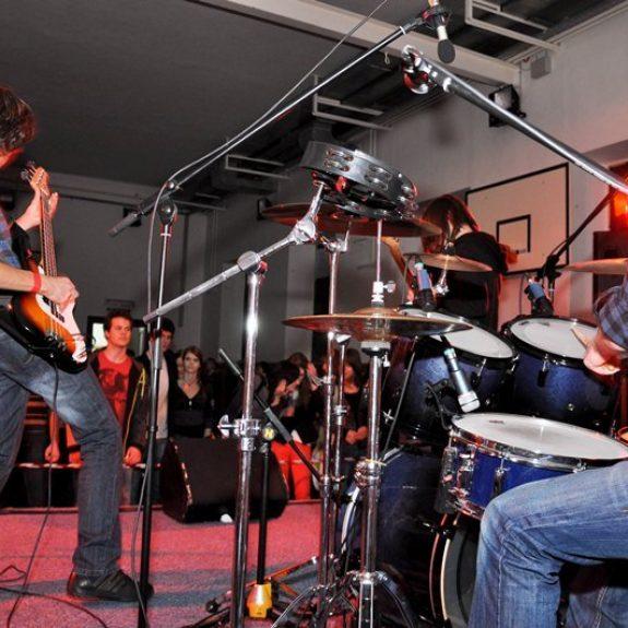Novoletni koncert - Skupina People Exploding, dec. 2011, foto Nika Bratkovič