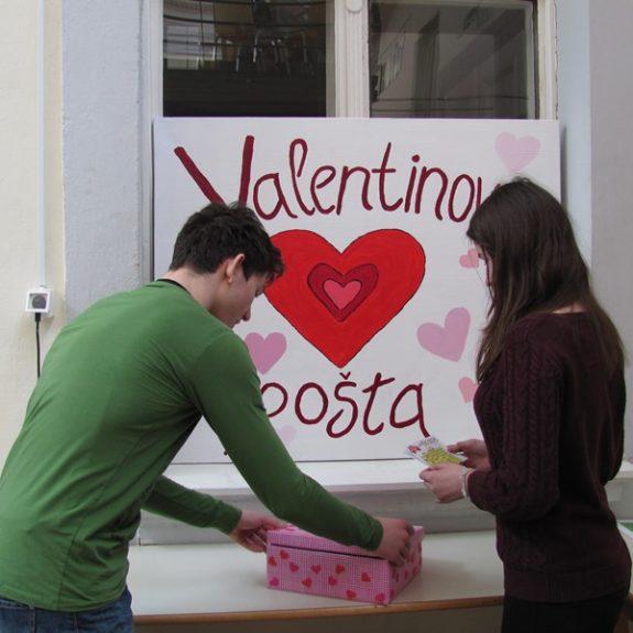 Valentinčkova pošta, feb. 2014, foto Jakob Piletič