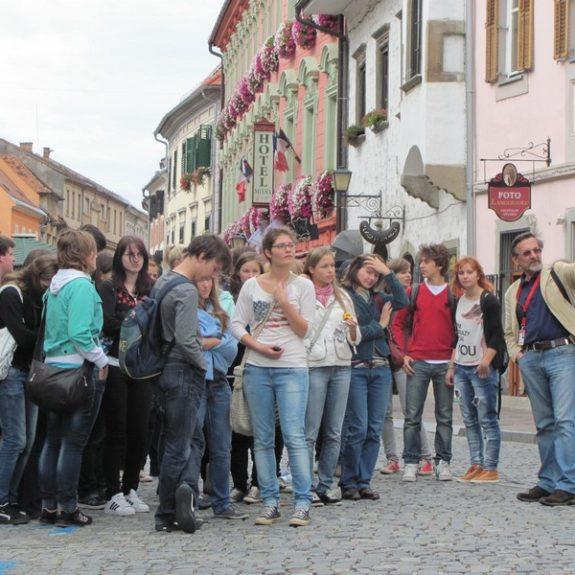 Po Sloveniji in zamejstvu - Na Ptuju, sept. 2011, foto P. Kukec