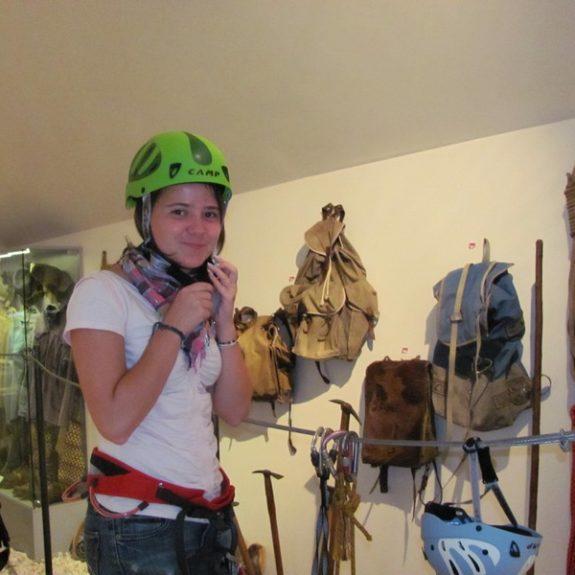 V Planinskem muzeju v Mojstrani