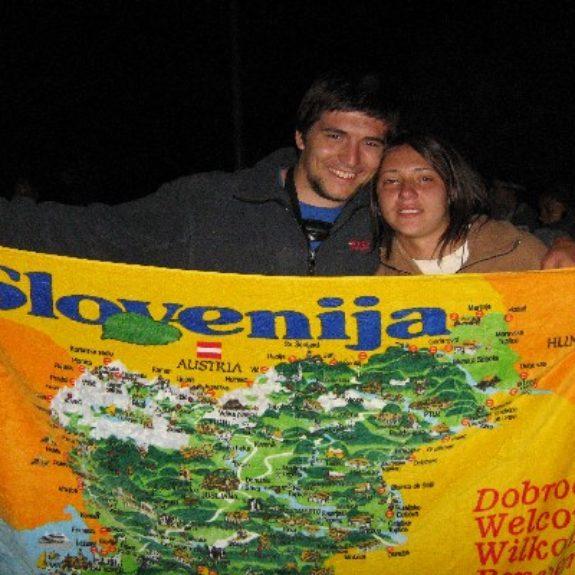 Rosana s slovensko zastavo, 2007