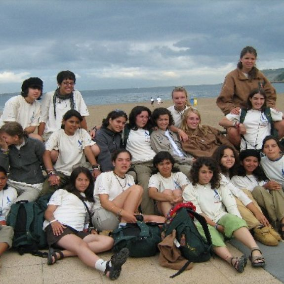 Skupina nagrajencev v Španiji in Mehiki, 2007