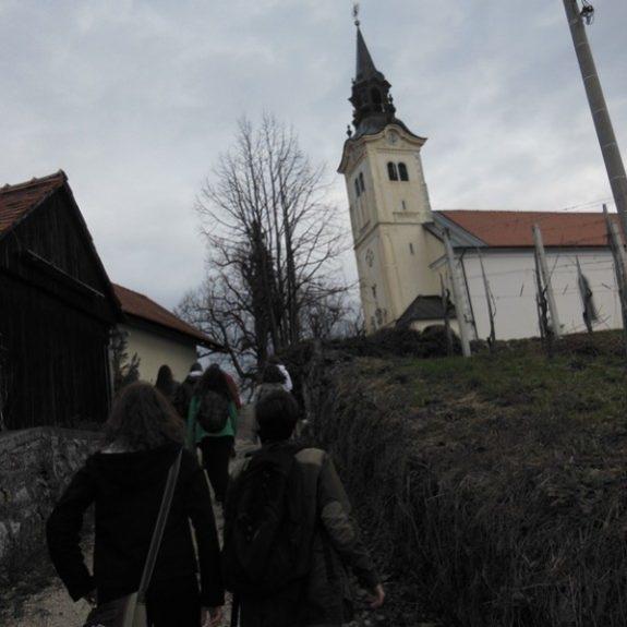Na pohodu na Trško goro, foto I. Maričič