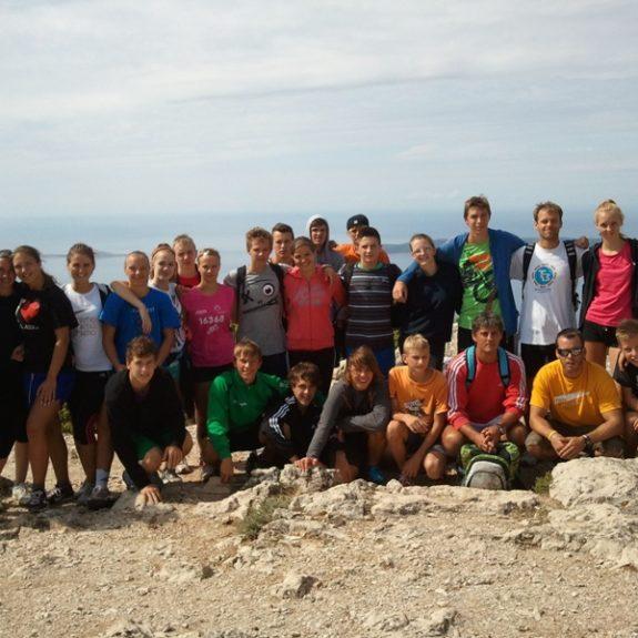 Na najvišjem vrhu Lošinja, sept. 2012, foto J. Cimperman