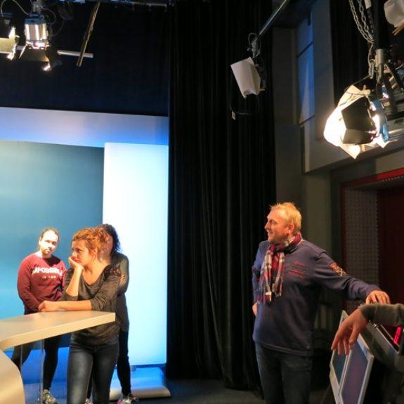 Intervju s športnim novinarjem v ORF