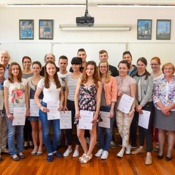 Podelitev diplom DSD 2, maj 2015, foto Simon Hočevar