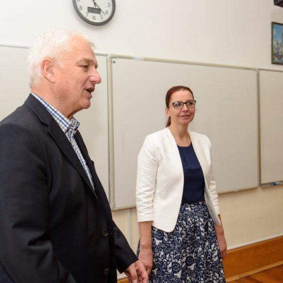 Dr. Reinhard Zühlke in ravnateljica