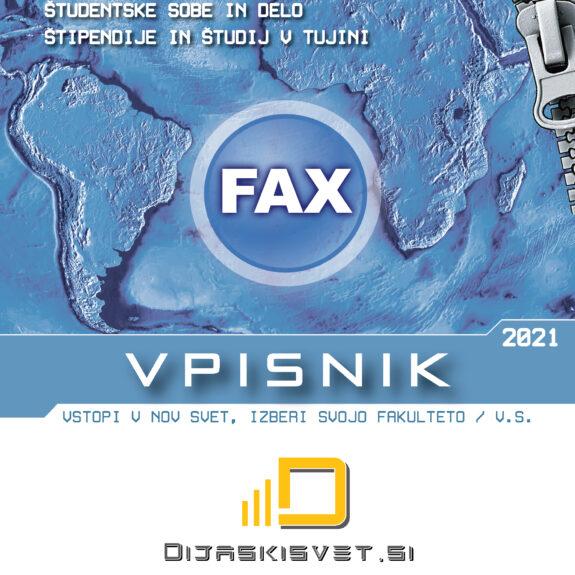 Fax Vpisnik 2021