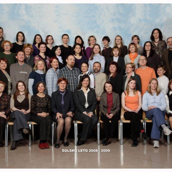 Učiteljski zbor 2008/09