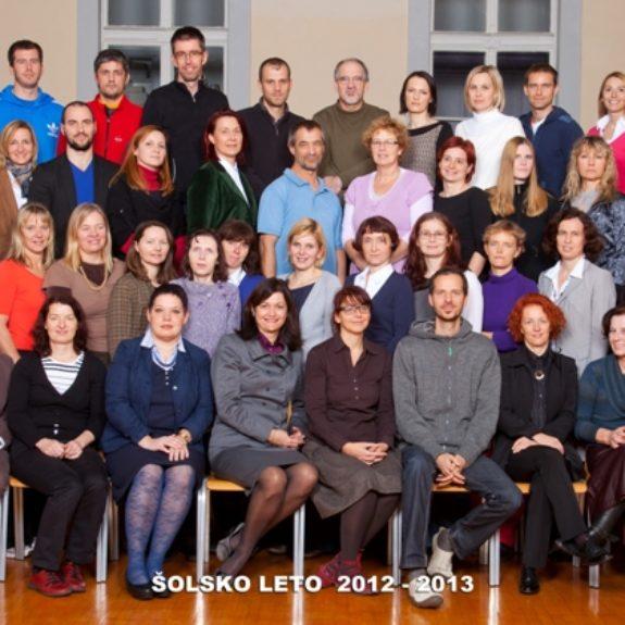 Učiteljski zbor 2012/13