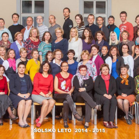 Učiteljski zbor 2014/15