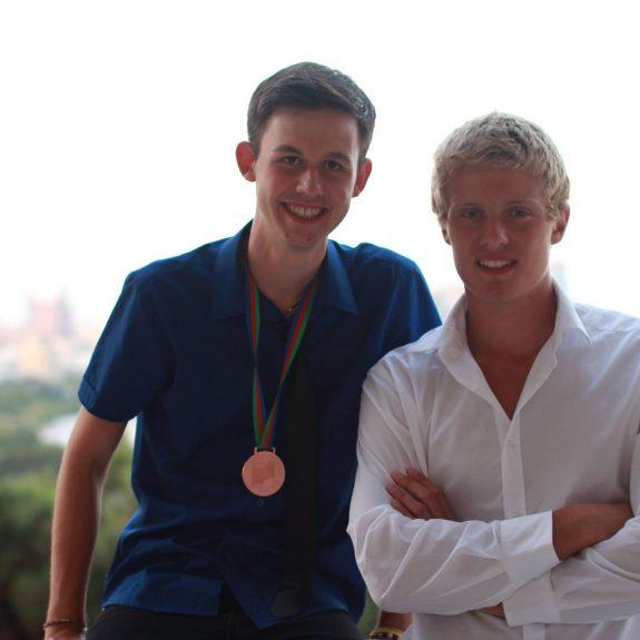 Mednarodna kemijska olimpijada 2015, Uroš in Klemen