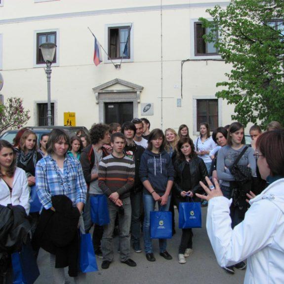 Französische Gäste bei dem Stadtrundgang, 2011, Foto S. H.