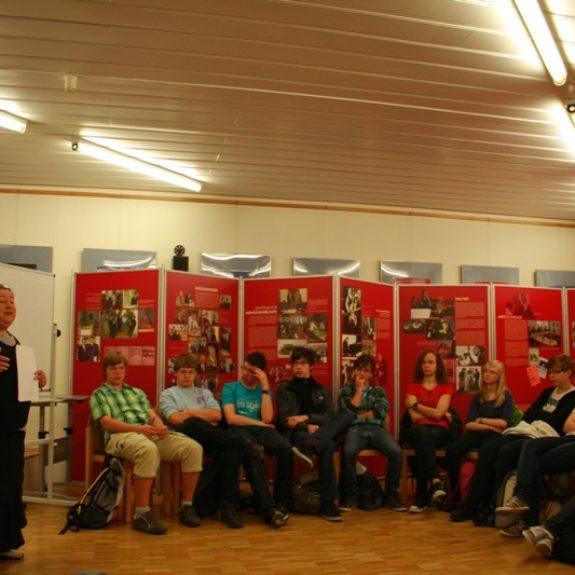 With project Comenius in Docu-centre in Heidelberg, 2011, foto N. R.