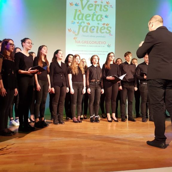 Koncert klasičnih gimnazij 2018 - I. Gimnazija Celje