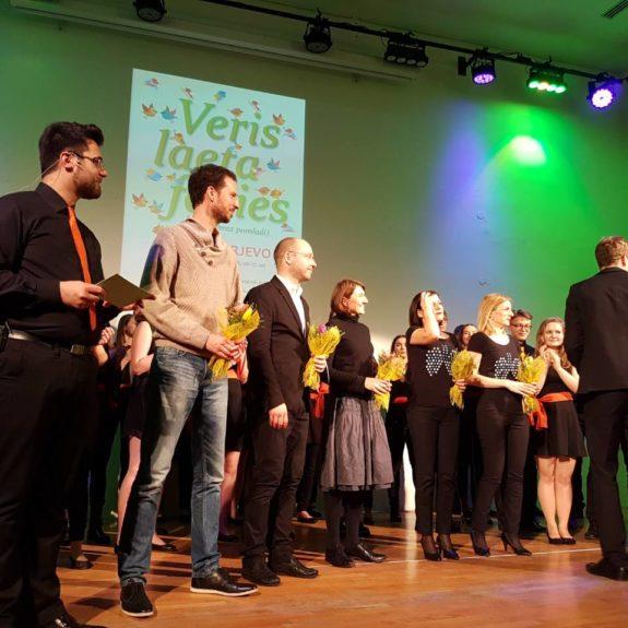 Koncert klasičnih gimnazij 2018 - Šopki zborovodjem