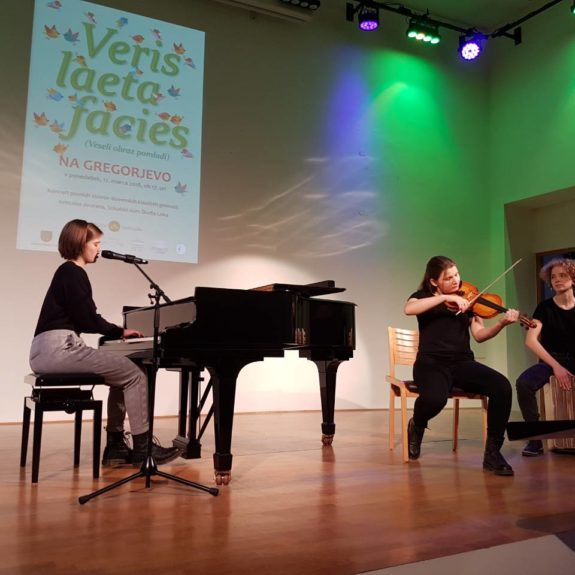 Koncert klasičnih gimnazij 2018 - Gimnazija Poljane