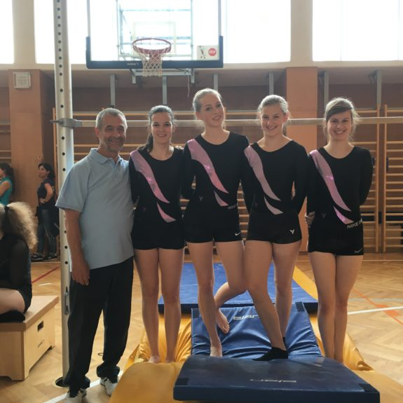 Državne podprvakinje v gimnastiki, foto: Anja Lukan