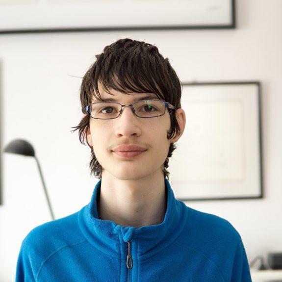Luka Hadl, absolutni zmagovalec tekmovanja v znanju naravoslovja 2018, foto: Miha Hadl