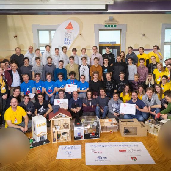 Udeleženci tekmovanja, foto: arhiv Hiše eksperimentov