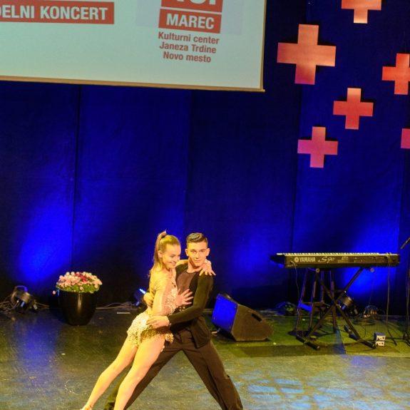 Jasna Potočar in Nal Lakič, Plesni klub NM, foto: Simon Hočevar