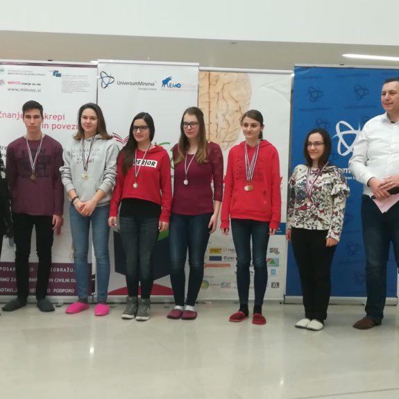Dobitniki priznanj v kategoriji Karte, foto: Branka Klemenčič