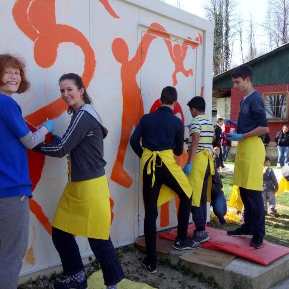 Dan za spremembe v romskem naselju Jedinščica, foto: Suzana Krvavica