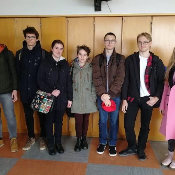 Udeleženci državnega tekmovanja iz angleščine, foto: Mirjam Skube