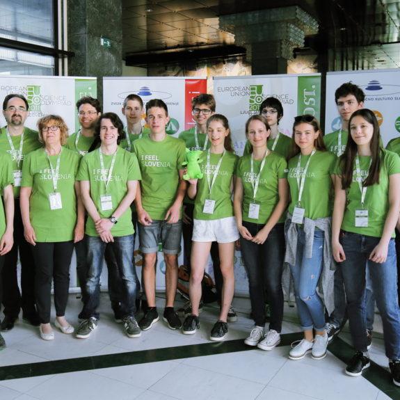 Slovenske ekipe, foto: arhiv EUSO 2018
