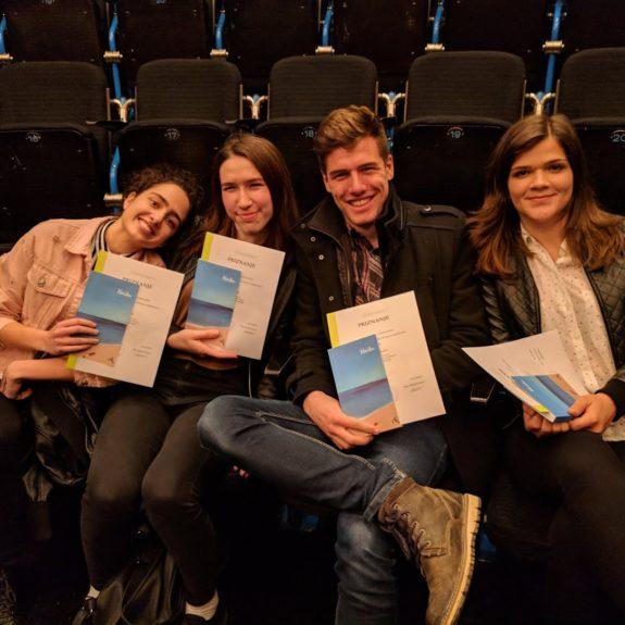 Nagrajenci natečaja haikujev v nemškem jeziku, foto: Nataša Sekula Zupančič