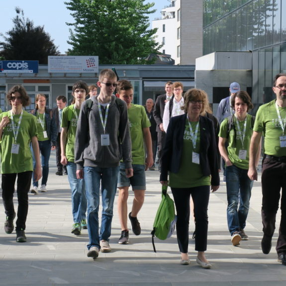 Slovenska ekipa, foto: arhiv EUSO
