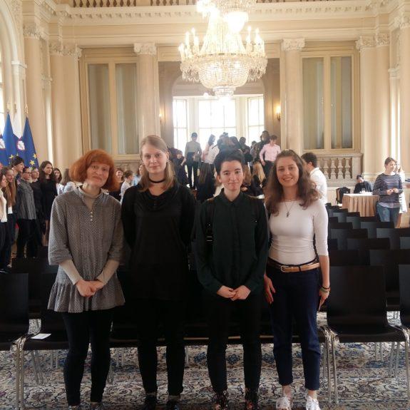 V predsedniški palači, foto: Natalija Petakovič