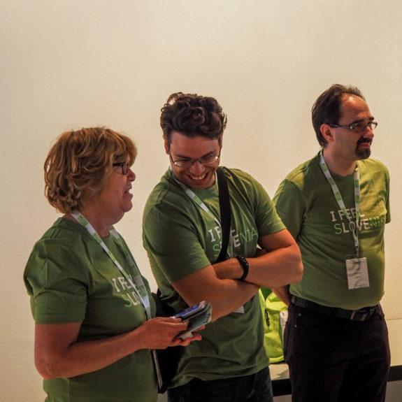 Mentorji ZOTKS, ki spremljajo ekipo, foto: arhiv EUSO 2018