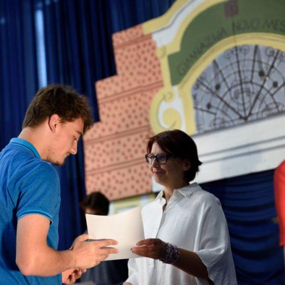 Podelitev priznanj, priznanj z nagrado za dijake 3. letnika, foto: Miha Hadl