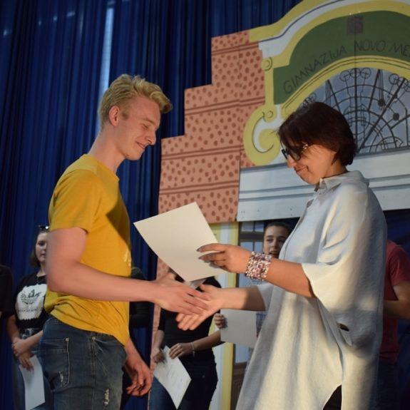 Podelitev priznanj dijakom 4. letnika, foto: Jana Prijatelj