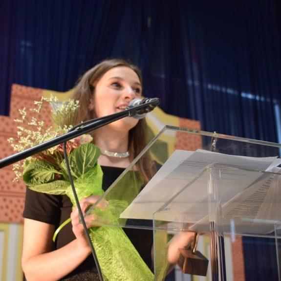 ?Podelitev nagrade odličnosti, dijakinji Nastji Medle, foto: Jana Prijatelj