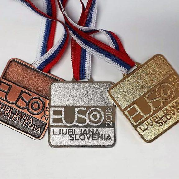 Medalje EUSO 2018, foto: arhiv ZOTKS