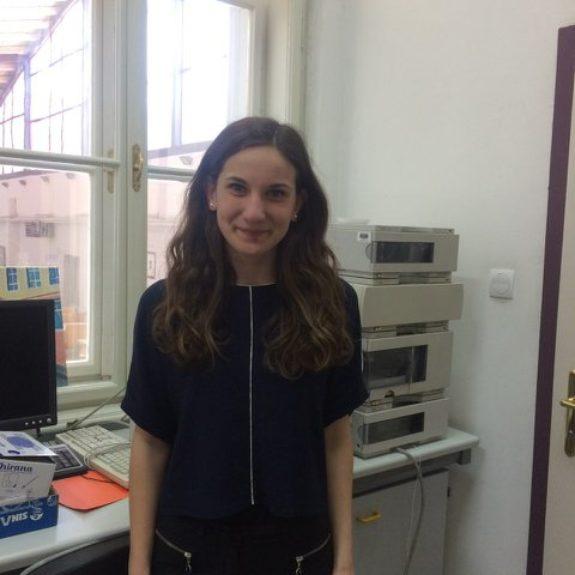 Nastja Medle, članica ekipe, ki bo Slovenijo zastopala na IChO 2018, foto: Katarina Sluga