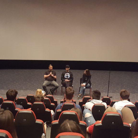Pogovor po ogledu filma Strah, foto: Lara Zidar