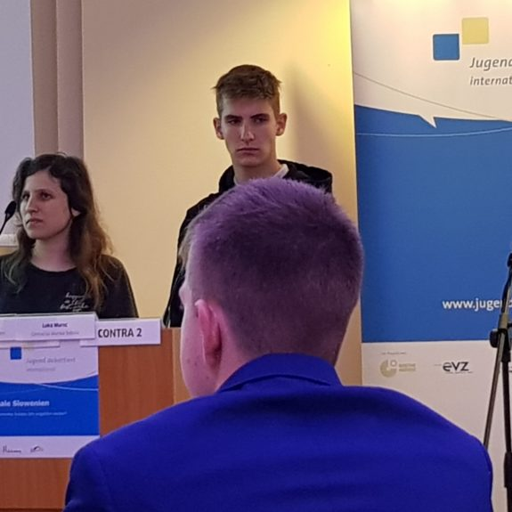 Jugend debattiert international, foto: Vasja Jakše