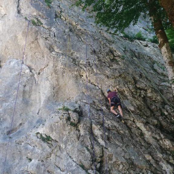Športni dan, Bohinj, 3. letnik: plezanje