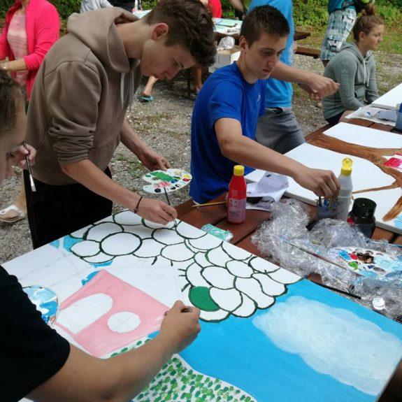 Šola v naravi za dijake 3. š, Bohinj 2018