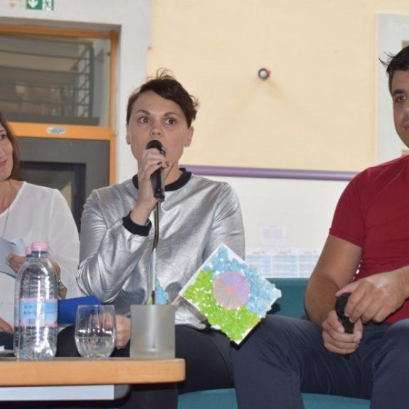 Mojca Vegelj o dnevnih centrih DRPD v romskih naseljih, foto: Jana Prijatelj