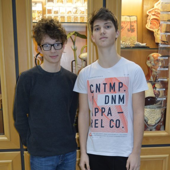 Domen Hočevar in Jernej Birk, foto: Branka Klemenčič